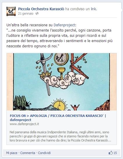 PICCOLA ORCHESTRA KARASCIO