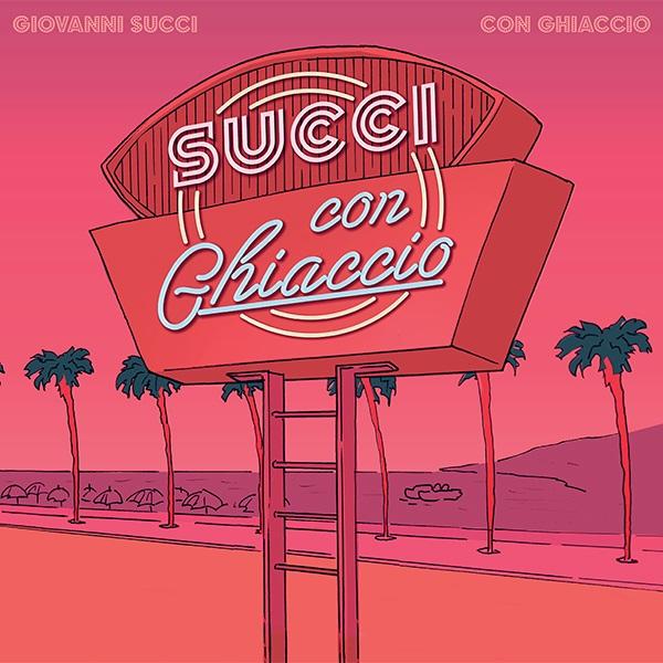 Copertina del disco di Giovanni Succi, Con Ghiaccio